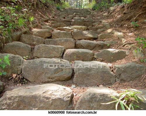 k0060908 pedras e escadas