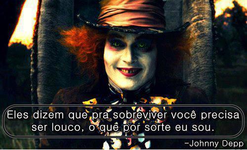 loucura johnny Depp